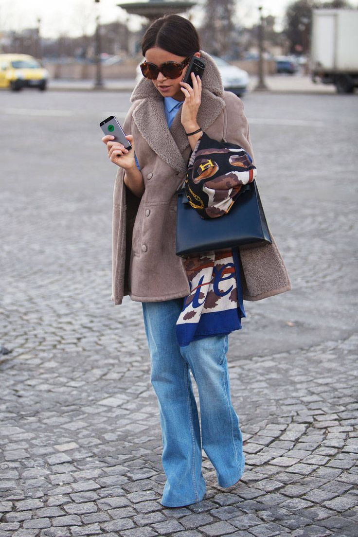 Ugh, amazing Street Style Paris Fashion Week - Street Style Photos from PFW - ELLE: