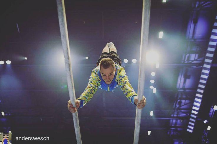 #OlegVerniaiev @Regrann from @anderswesch -  Oleg Verniaiev at GymGala in Antwerp