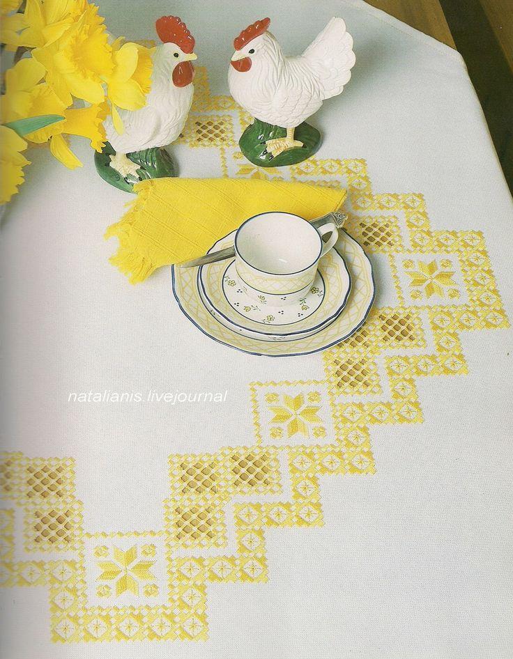 table cloth.................