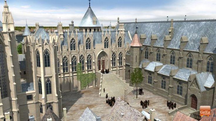 Le Palais de la Cité - Cette image réalisée par Grez productions permet de découvrir le Palais de la Cité dans sa version médiévale. Il fut la résidence des rois de France du Xe au XIVe siècles.