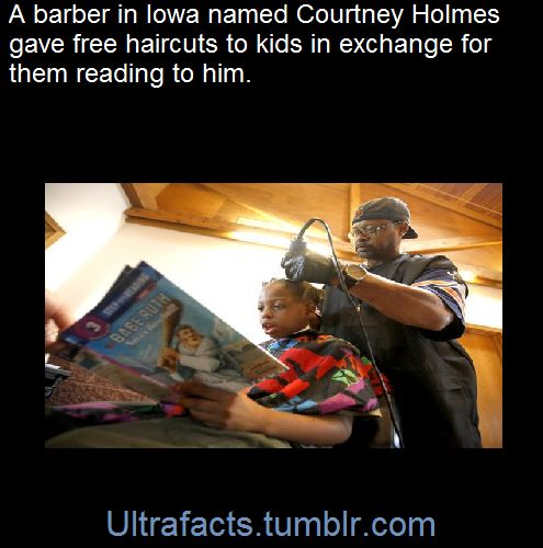 Children who read books to a local barber have received a free haircut as part of a community event in Dubuque to help families prepare for the upcoming school year. Barber Courtney Holmes traded the tales for trims on Saturday during the second annual Back to School Bash in Comiskey Park, in Dubuque