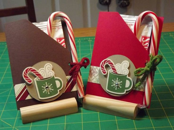 Christmas Cocoa Packs by Pansey65 - Cards and Paper Crafts at Splitcoaststampers