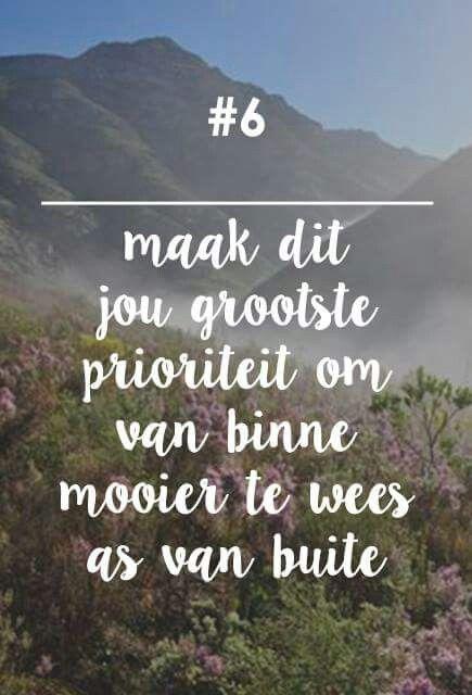 __[Fynbos Vrou/FB] # 6 ...van binne x van buite #Afrikaans #skoonheid