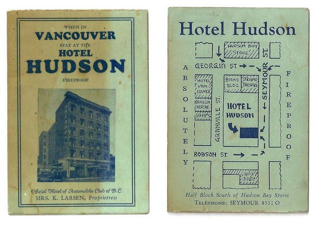 A great Flickr site of the Vanishing Vancouver photos.
