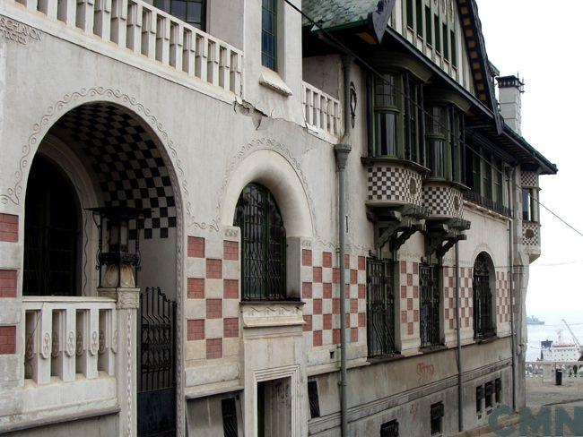 Palacio Baburizza, Valparaíso. Arqs. Arnaldo Barison y Renato Schiavoni, 1916