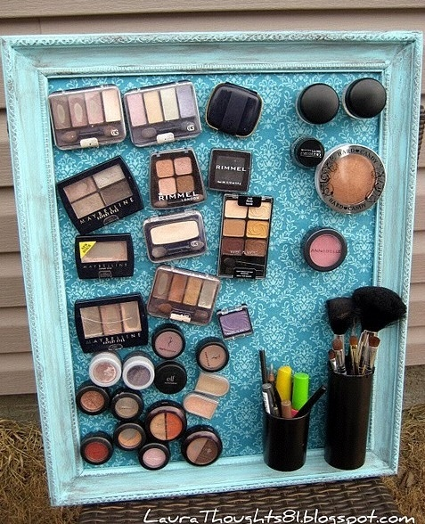 Keep your make up nice and organized, you'll always know what you have and what you're getting low on