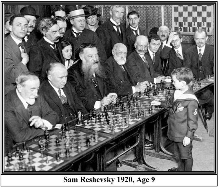 Sam Reshevsky, age 9 (1920)
