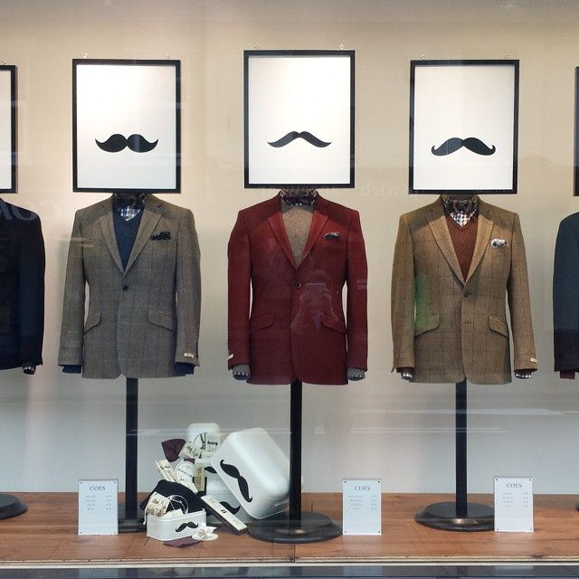 """""""No intelligent man wears a moustache voluntary-you can write that down (actor Sam Neil)"""", pinned by Ton van der Veer"""