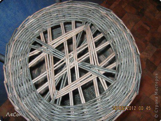 Поделка изделие Плетение Авторские крышечки Бумага газетная фото 1