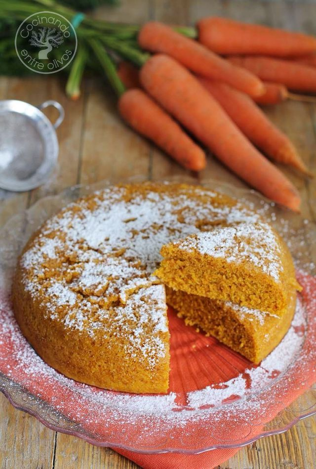 Bizcocho de zanahoria en microondas receta paso a paso - Bizcocho microondas isasaweis ...