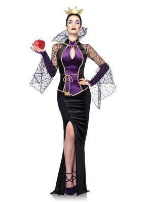 Adult Disney Sexy Evil Queen Outfit Womens Snow White Halloween Party Costume | eBay