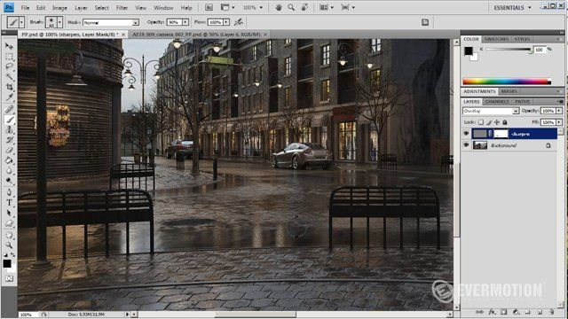 In this tutorial, Michal Horba from Evermotion  will guide you through post-production process. You will learn how to use render elements to tweak your render in Photoshop. You will find more quality tutorials for CG artists on http://www.evermotion.org