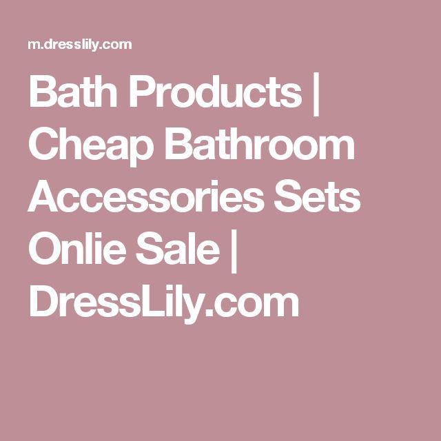 Bath Products   Cheap Bathroom Accessories Sets Onlie Sale   DressLily.com