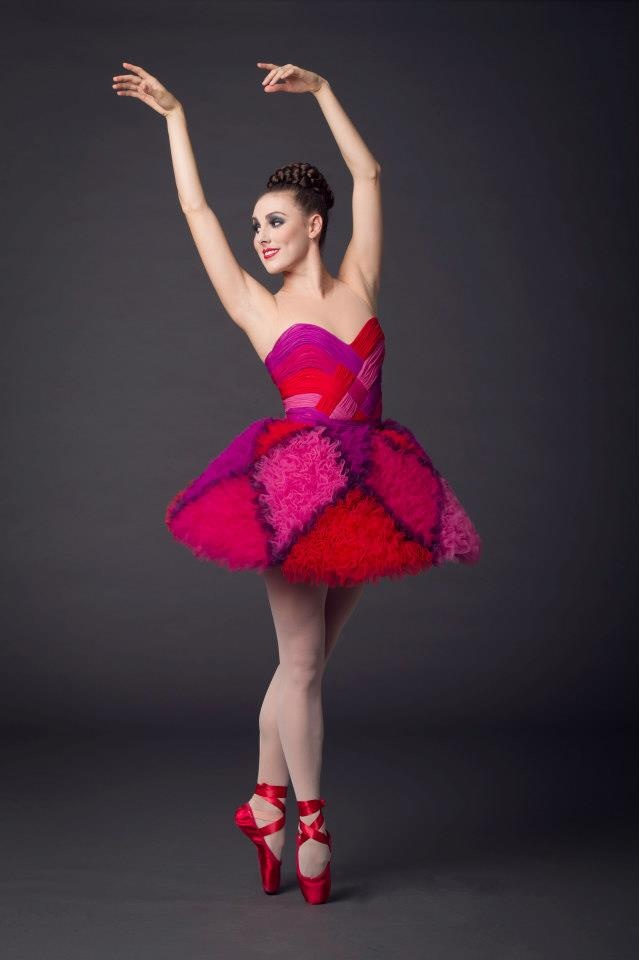 Tiler Peck in Valentino at New York City Ballet
