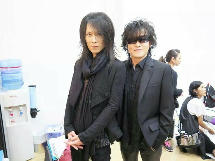 Heath and Toshi. X Japan