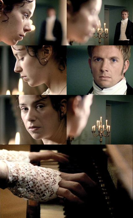 Anne & Wentworth - Persuasion by Jane Austen/ One of my favorite adaptions except for that last running scene. So perfect up until then.