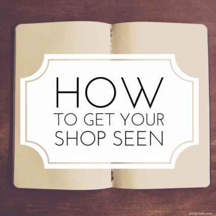 Ebook, How to Get Your Shop Seen on Etsy, Digital Download, Instant Download, PDF, Guides, Kindle, Gift for Seller, Start Your Own Business
