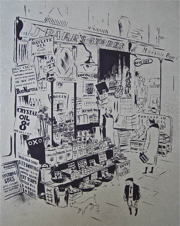 James Boswell. London illustrator from the 1930's / 40's.