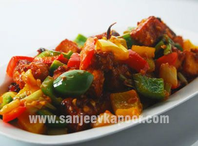 how to make delicious paneer chilli