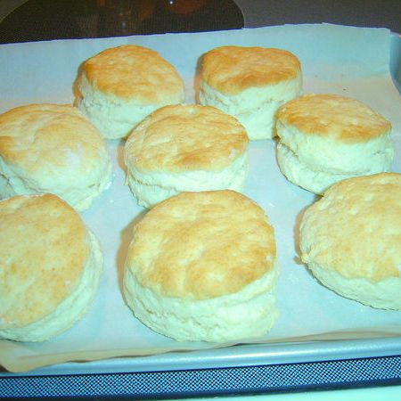 ... rising buttermilk biscuits! Excellent with cream gravy and sausage