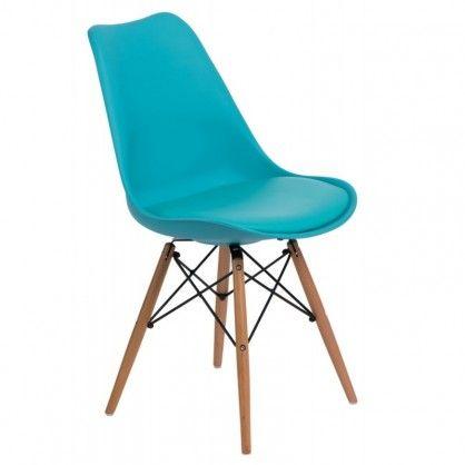 Krzesło Norden DSW niebieskie