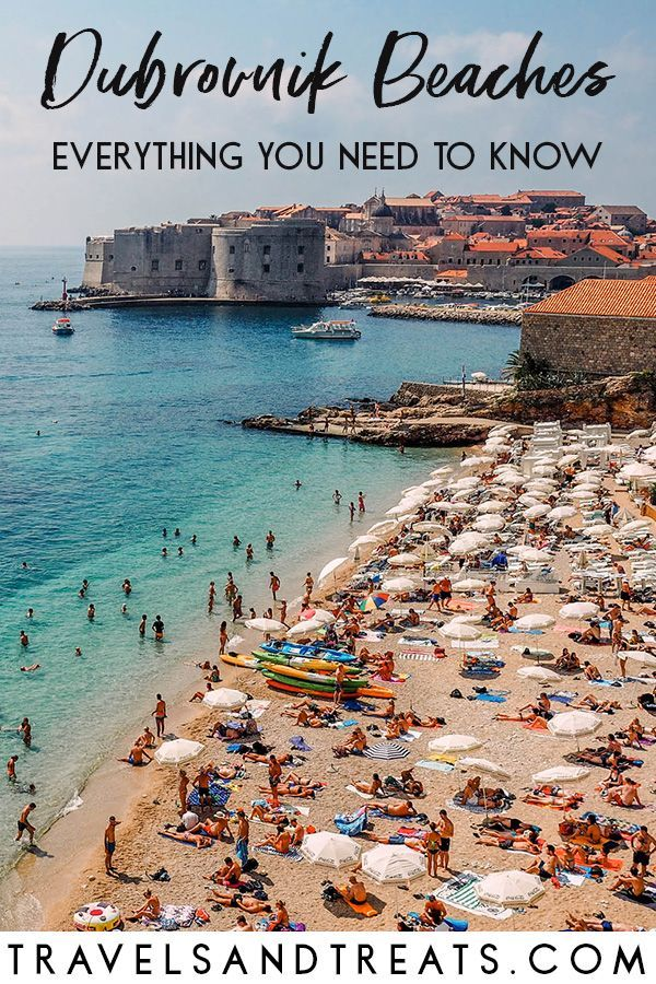 Beaches In Dubrorvnik Croatia And Everything You Need To Know For Your Beach Trip Dubrovnik Europe Summervacation