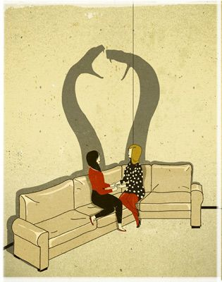 ••• Art by Emiliano Ponzi.