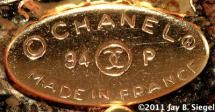 What Do the 7 CHANEL Costume Jewelry Marks Mean?: Chanel Oval Mark - 1990s and Later
