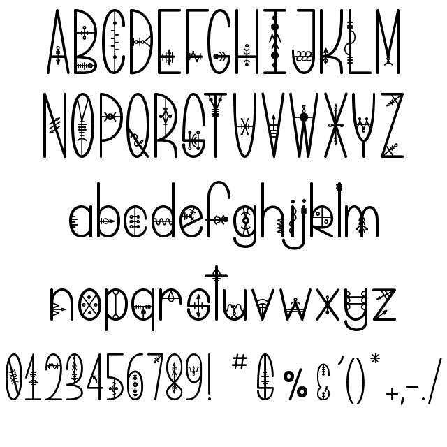 Bring me That Glyph Font