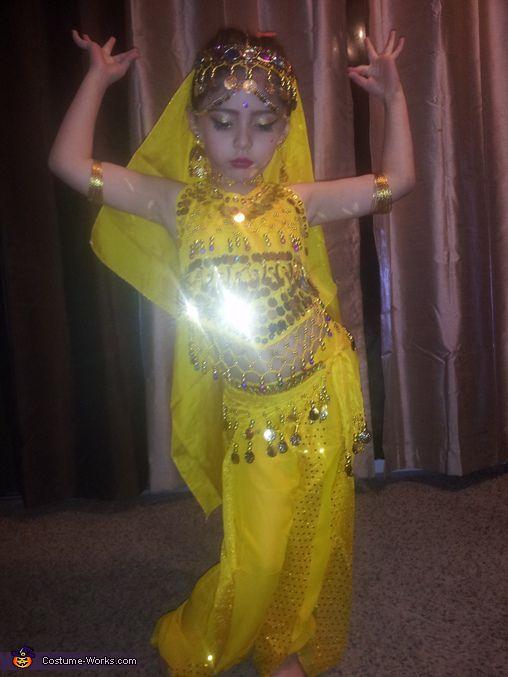 Belly Dancer - Halloween Costume Contest via @costume_works