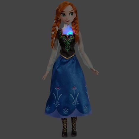 Anna De Frozen Que Canta De 40.64 Cm De Disney Store!!!