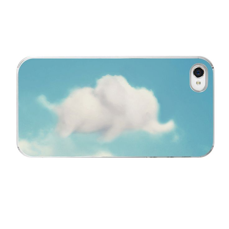 JUST BOUGHT THIS FOR MY PHONE!  LOVE!!!!    Elephant iPhone Case, Cloud iPhone Case, Clouds iPhone Case, iPhone 5 Cover, iPhone 4 Case 4s, Dumbo iPhone, Case, Sky Blue, Cute Funny. $33.00, via Etsy.