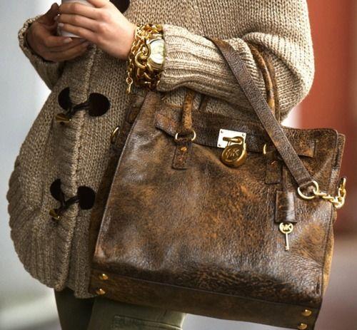 Michael KorsChanel Bags, Michael Kors Pur, Design Handbags, Michael Kors Bag, Prada Handbags, Design Bags, Design Pur, Leather Bags, Lv Handbags