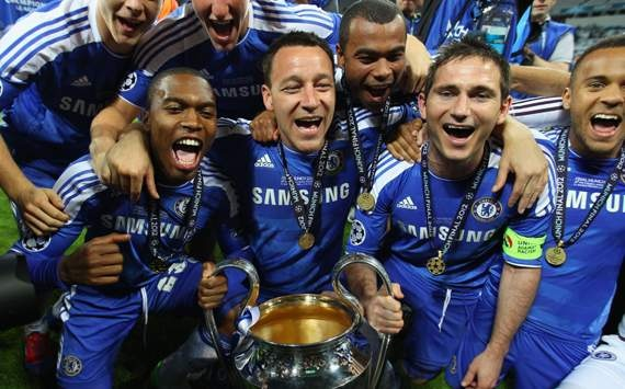 lampard with terry,sturidge,a.cole and bertrand