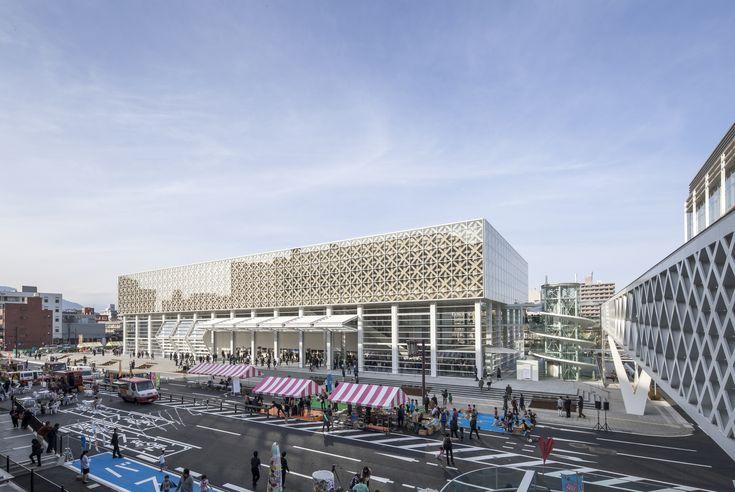 Galeria de Museu Oita / Shigeru Ban Architects - 2