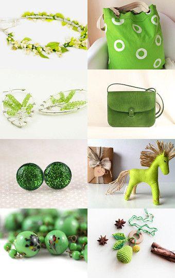 Green by Cristina on Etsy--Pinned with TreasuryPin.com