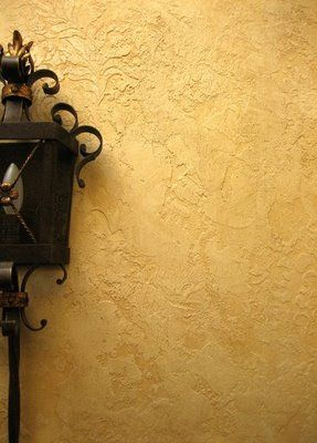 Tuscan Decorating with Textured Paint wall texture – Tuscan Kitchen Decor