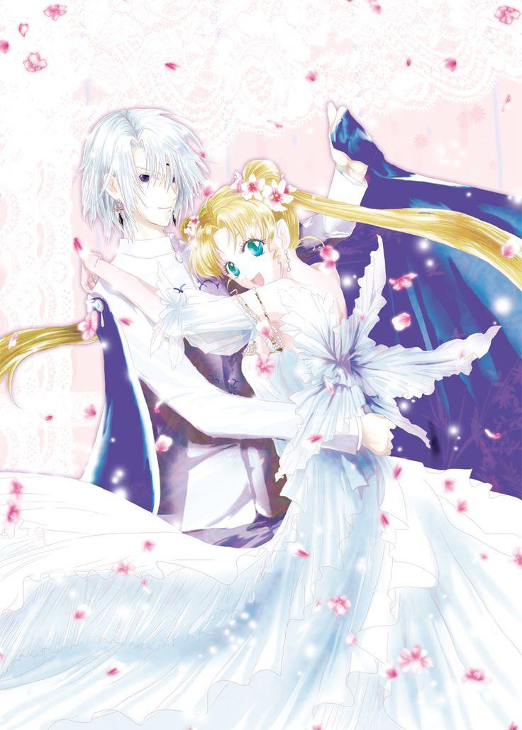 Prince Diamond kissing Sailor Moon   ... Senshi Sailor Moon, Tsukino Usagi, Princess Serenity, Prince Diamond