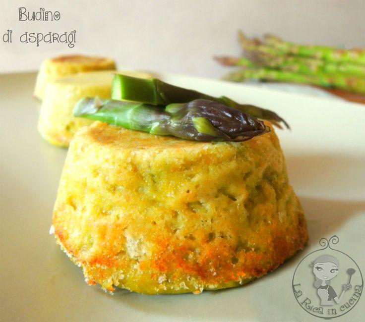 Budino di asparagi,la rica in cucina,secondi piatti,antipasto,primavera,ricette con asparagi,asparagi selvatici,cottura asparagi,come cucinare gli asparagi