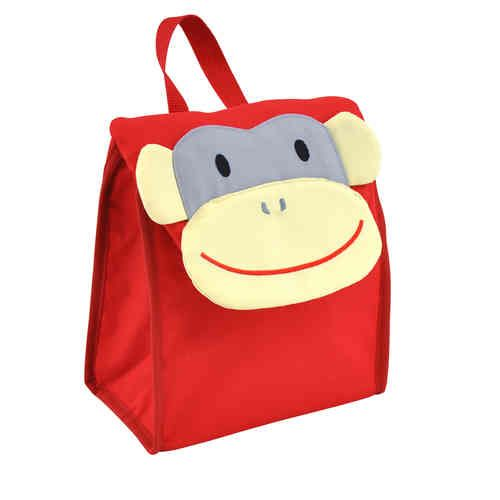 Lunch Bags - Red Monkey - White Apple Gifts