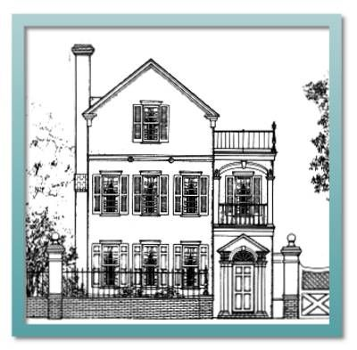 Authentic historical designs llc house plan on pinterest for Authentic historical house plans