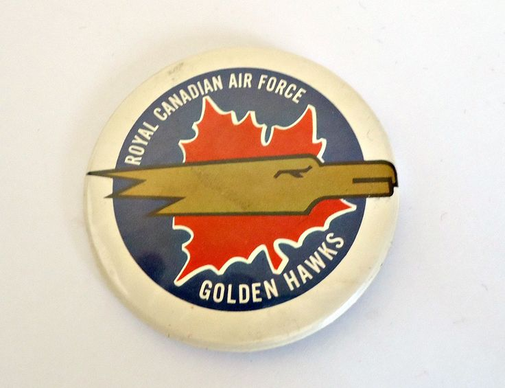 Pinback Button Vintage Royal Canadian Air Forces Pin Button 1980's by TreasureCoveAlly on Etsy