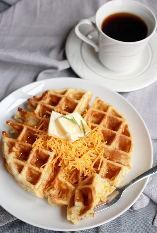 ... about Wuffles on Pinterest | Waffles, Cornmeal waffles and Cheddar