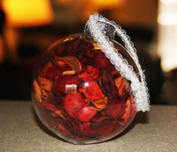 Apple Cinnamon Potpourri Ornament Christmas Ornament by Teakberry