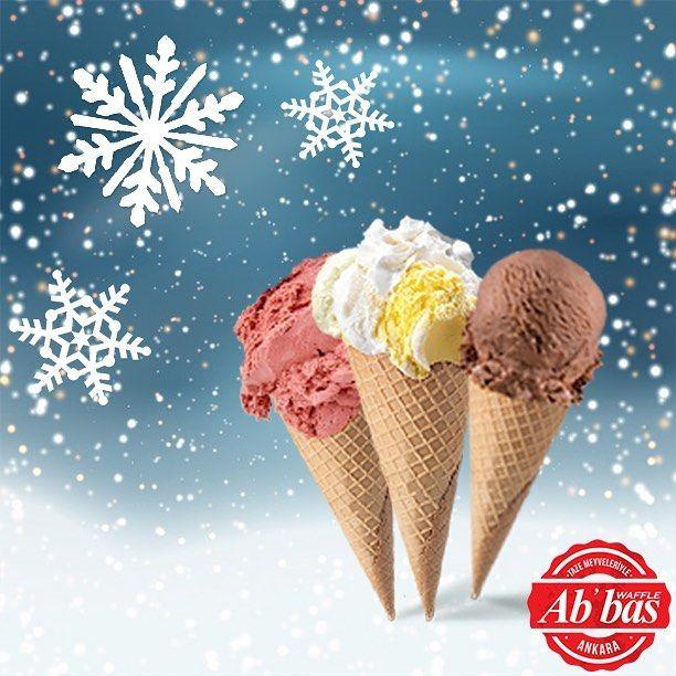 Kışın soğuğu varsa bizim de gelato'muz var! Taze meyveli gelato'larımızla soğuklara meydan okuyoruz. #AbbasWaffleAnkara #AbbasGelato #TazeMeyveler