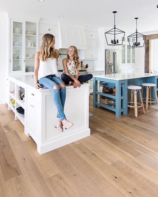 New House Tour The Lilypad Cottage In 2020 White Oak Hardwood