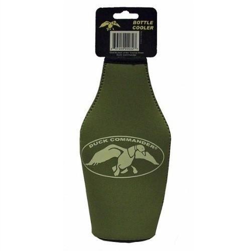 Duck Commander Green Insulated Bottle Sleeve DC-NOV-GBK