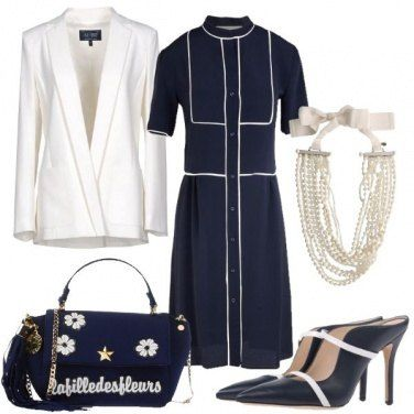 Outfit Madrina con stile
