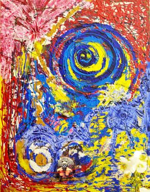 "Saatchi Art Artist Sina Muscarina; Painting, ""B"" #art"