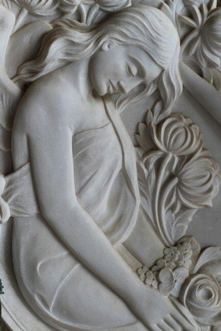 Sleeping Beauty in stone